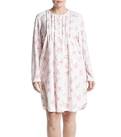 Miss Elaine Floral Print Nightgown