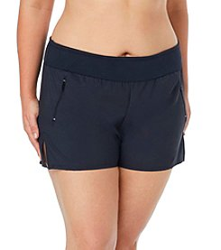 Beach House Plus Size Beach Shorts