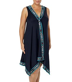 Coco Reef Plus Size Scarf Dress Cover Up