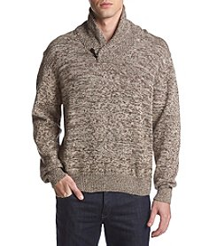 Weatherproof Vintage Men's Shawl Collar Sweater