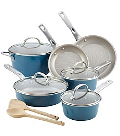 Ayesha Curry 12 Piece Nonstick Cookware Set + $20 Cash Back by Mail see offer details