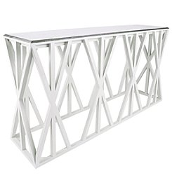 Dimond Weft Tressle Console Table