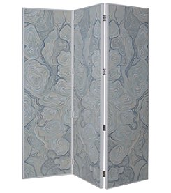 Dimond Coastal Agate Folding Screen