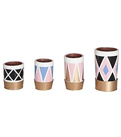 Dimond Kelly Pattern Pots