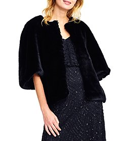 Adrianna Papell Faux Fur Jacket