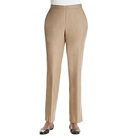 Alfred Dunner Petites' Stretch Straight Leg Pants