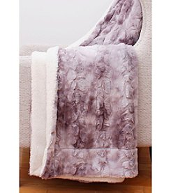 Thro by Marlo Lorenz Darwina Faux Fur Decorative Throw