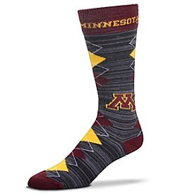 For Bare Feet NCAA® Minnesota Golden Gophers Men's Fan Nation Crew Socks