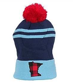Cirque Mountain Apparel Minnesota Plaid Beanie