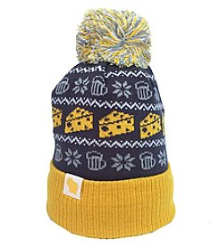 Cirque Mountain Apparel Wisconsin Nordic Cheese Beanie