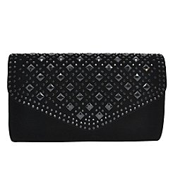 La Regale Diamond Crystal Clutch