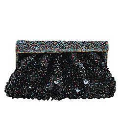 La Regale Mixed Bead Clutch
