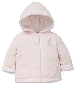 Little Me Baby Girls' Delicate Petals Reversible Jacket