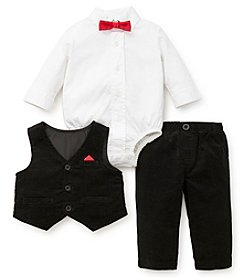 Little Me Baby Boys' Cozy Spots 3 Piece Vest Set