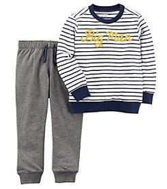 Carter's Boys' 2T-5T French Terry Pullover And Jogger Set