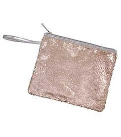 Erica Lyons Glitter Sequin Pouch Coin Purse