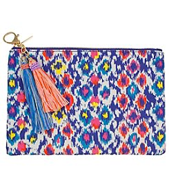 Erica Lyons Multi Diamond Pouch Coin Purse