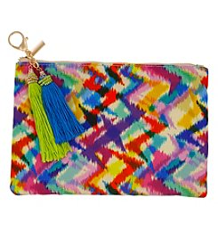 Erica Lyons Multi Zig Zag Pouch Coin Purse