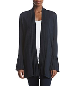 Fever Pleated Bell Sleeve Cardigan