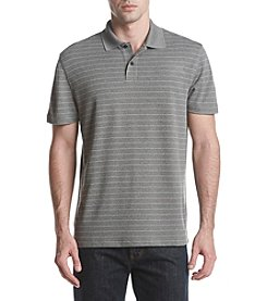 John Bartlett Consensus Men's Striped Performance Polo Shirt