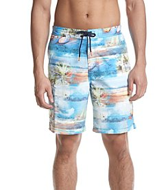 Tommy Bahama Men's Baja Electric Beach Swim Shorts