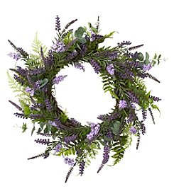 Living Quarters Flower Shop Lavender Wreath