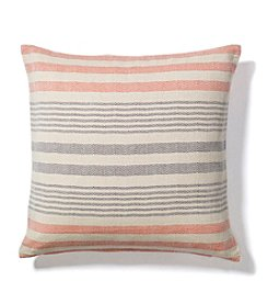 Ruff Hewn Stripe Herringbone Decorative Pillow