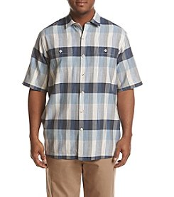 Tommy Bahama Men's Big & Tall Tamuda Bay Plaid Button Down