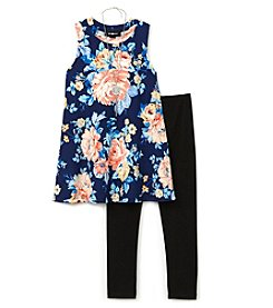 A. Byer Girls' 7-16 Sleeveless Tunic And Leggings Set