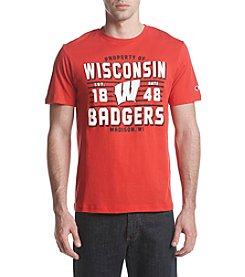 Champion NCAA® Wisconsin Badgers Men's Big Soft Tee