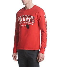 Champion NCAA® Wisconsin Badgers Men's Long Sleeve Tee