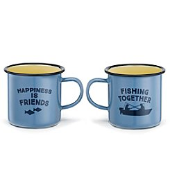 DEMDACO Friends Fishing Enamel Mug