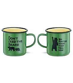 DEMDACO Don't Feed The Bears Mug