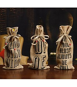 Elements Sentiment Wine Bottle Bags