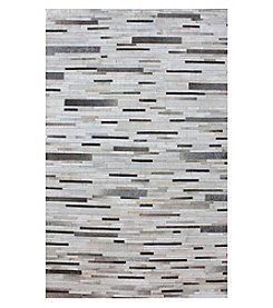 Dimond Joico Hand Stitched Leather Patchwork Rug