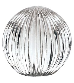 Dimond Ribbed Glass Globe
