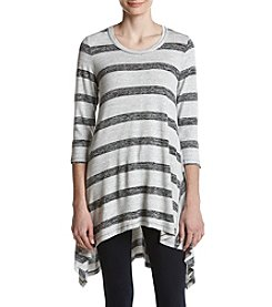 Fever Vertical Stripe Pattern Tunic