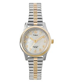 Timex Women's Classic Two Tone Expansion Watch