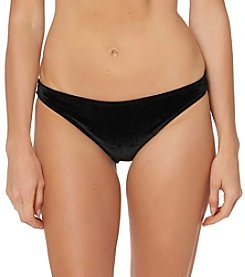 Jessica Simpson Cheeky Velvet Hipster Bottom