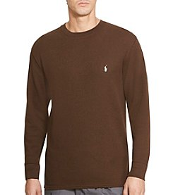 Polo Ralph Lauren Men's Waffle Knit Crew Neck Shirt