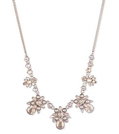 Givenchy Goldtone Frontal Necklace