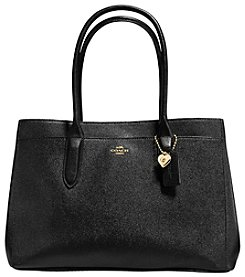 COACH BAILEY CARRYALL IN CROSSGRAIN LEATHER