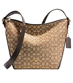 COACH Duflette In Signature Jacquard