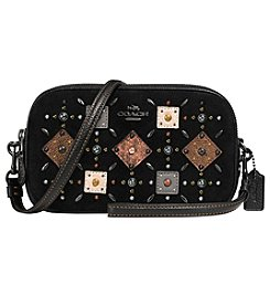 COACH Crossbody Clutch With Patchwork Prairie Rivets