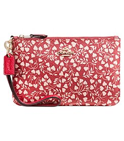 COACH BOXED PROGRAM LOVE LEAF SMALL WRISTLET