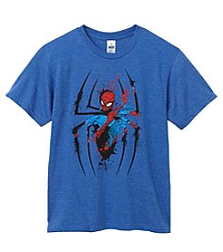 Spiderman Boys' 8-20 Short Sleeve Inside Spidey Tee