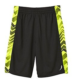 Exertek Boys' 4-20 Motion Side Print Mesh Shorts