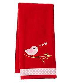 Saturday Knight, Ltd. Love Bird Hand Towel