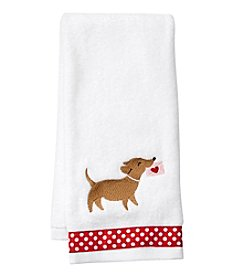Saturday Knight, Ltd. Special Delvery Dog Hand Towel
