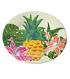 Living Quarters Pineapple Salad Plate